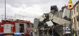 Aumenta número de mortos com queda de ponte em Gênova