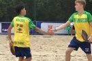 Time juvenil do Brasil estreia com vitória no Mundial por equipes de Beach Tennis