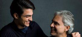 "Andrea Bocelli e seu filho em ""Fall On Me"". Assista"