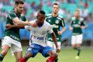 Bahia e Palmeiras ficam no empate na Arena Fonte Nova