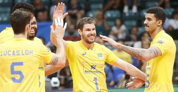 Brasil vence a Austrália na primeira partida da segunda fase do Mundial de Vôlei