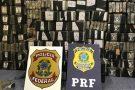 Agentes das polícias Federal e Rodoviária apreendem 650 quilos de cocaína