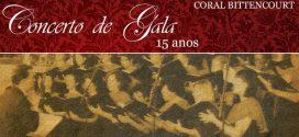 Coral Bittencourt comemora 15 anos com Concerto de Gala