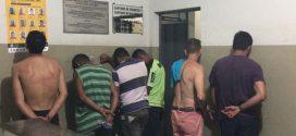 Presos mais seis detentos do semiaberto e militares apreendem mais de um quilo de maconha perto da Pio Canedo