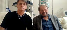 Boletim confirma progressão dos movimentos intestinais de Bolsonaro