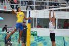 Brasil segue com as duas duplas do vôlei para a segunda fase dos Jogos Olímpicos da Juventude