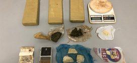 Preso com grande quantidade de drogas no Residencial Cecília Meireles, após denúncia anônima