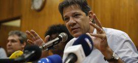 Fernando Haddad pede aos simpatizantes que multipliquem presença nas redes sociais