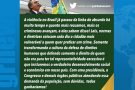 """""""Violência no Brasil já passou da linha do absurdo"""", diz Bolsonaro"""