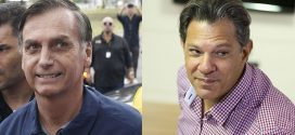 Faltando 13 dias do segundo turno, Bolsonaro e Haddad intensificam agendas