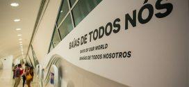 Totem interativo mostra baías de vários países no Museu do Amanhã no Rio