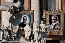 Papa diz que Jesus é radical, dá tudo e pede tudo, durante Missa com canonizações
