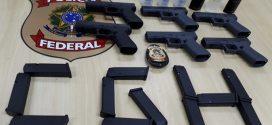 Polícia Federal apreende seis pistolas semiautomáticas no Aeroporto de Congonhas