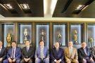 CBF, Conmebol, Grêmio e Palmeiras fimam compromisso pelo fair play nas semifinais da Liberta