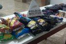 Adolescente é apreendido com materiais furtados em comércio