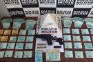 Idoso é preso com arma, munições e mais de R$ 51 mil em dinheiro em Divinópolis