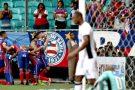 Bahia arranca virada na Arena Fonte Nova e complica situação do Ceará