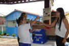 APAE de Pará de Minas cumpre mais uma etapa da campanha Doação Premiada e sorteia TV