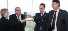Bolsonaro se reuniu com ministros do TSE