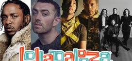 Lollapalooza 2019 terá Kendrick Lamar e Sam Smith