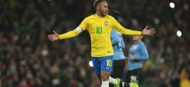 Seleção Brasileira vence o Uruguai em amistoso em Londres