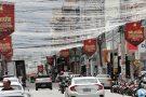 Iluminação de Natal está pronta e caminhões com mais de 4 metros não podem transitar pela Benedito Valadares